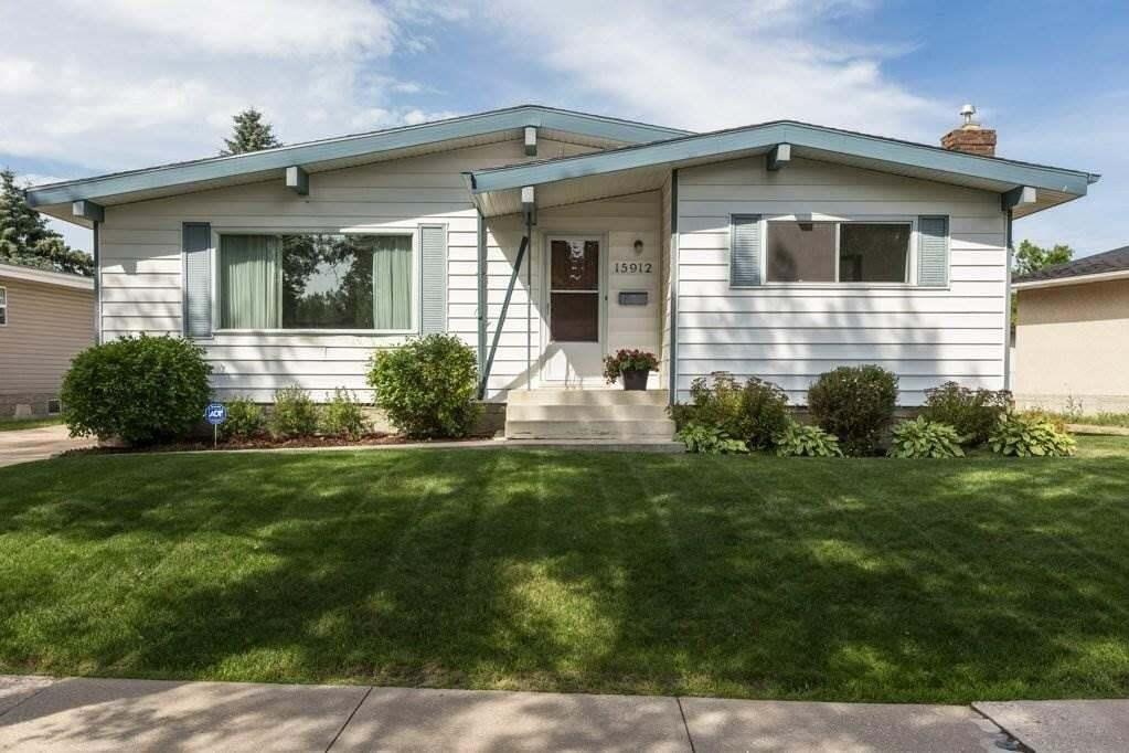House for sale at 15912 78 Av NW Edmonton Alberta - MLS: E4210006