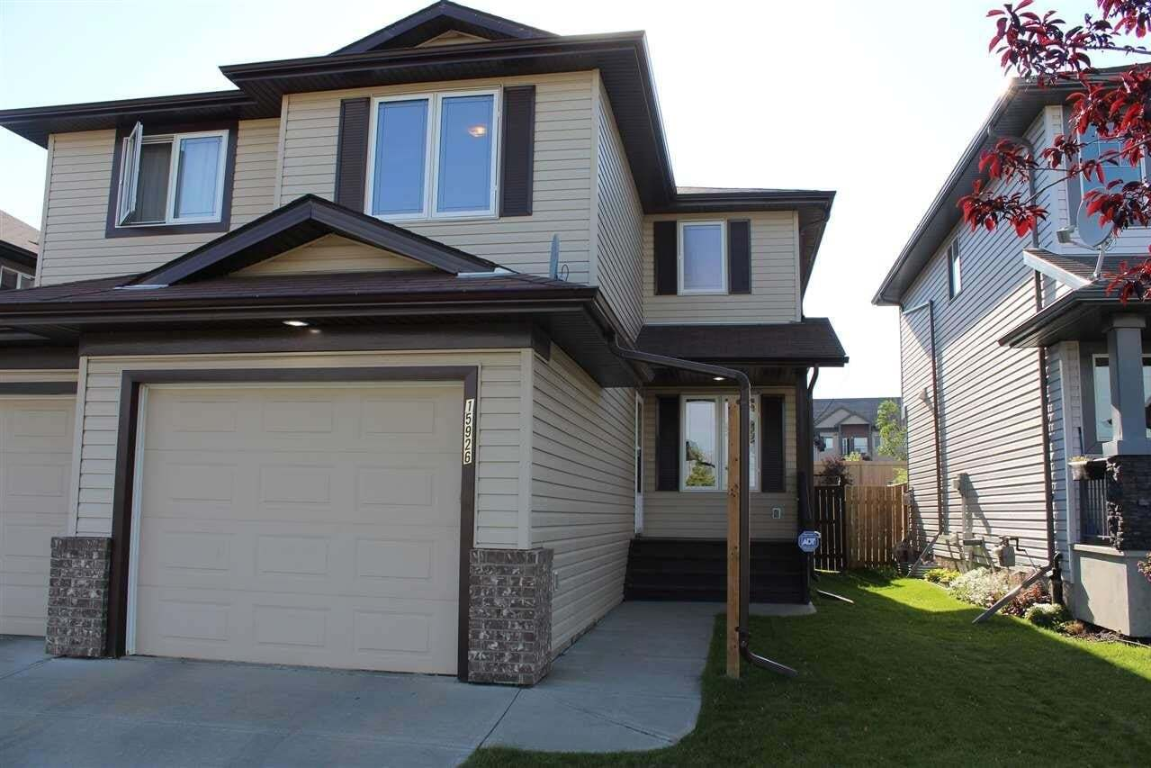 Townhouse for sale at 15926 95 St NW Edmonton Alberta - MLS: E4210875