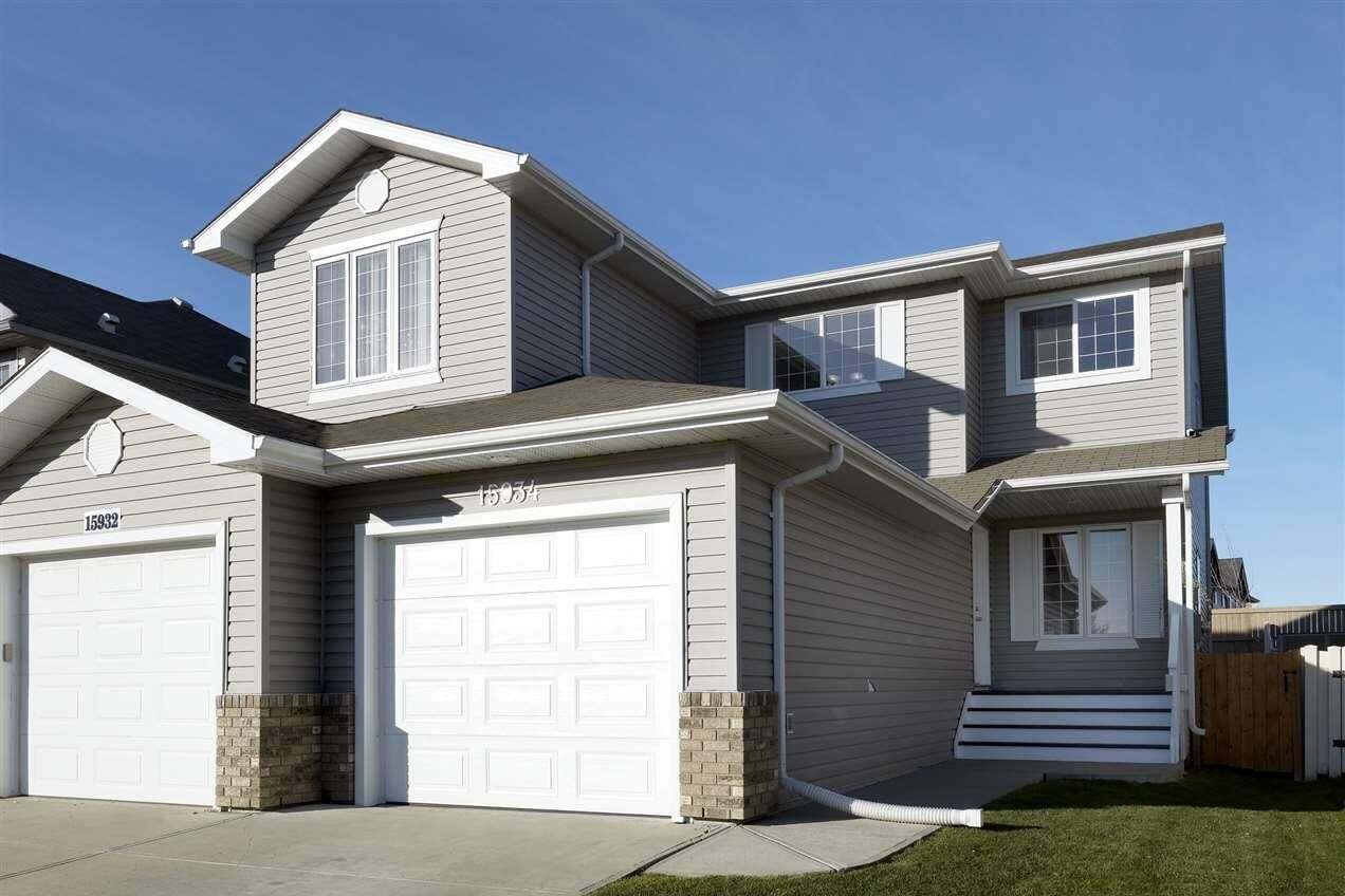 Townhouse for sale at 15934 95 St NW Edmonton Alberta - MLS: E4216522