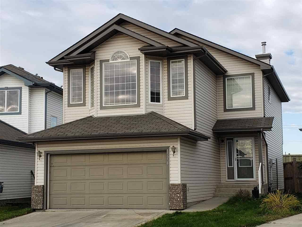 House for sale at 15936 141 St Nw Edmonton Alberta - MLS: E4176012