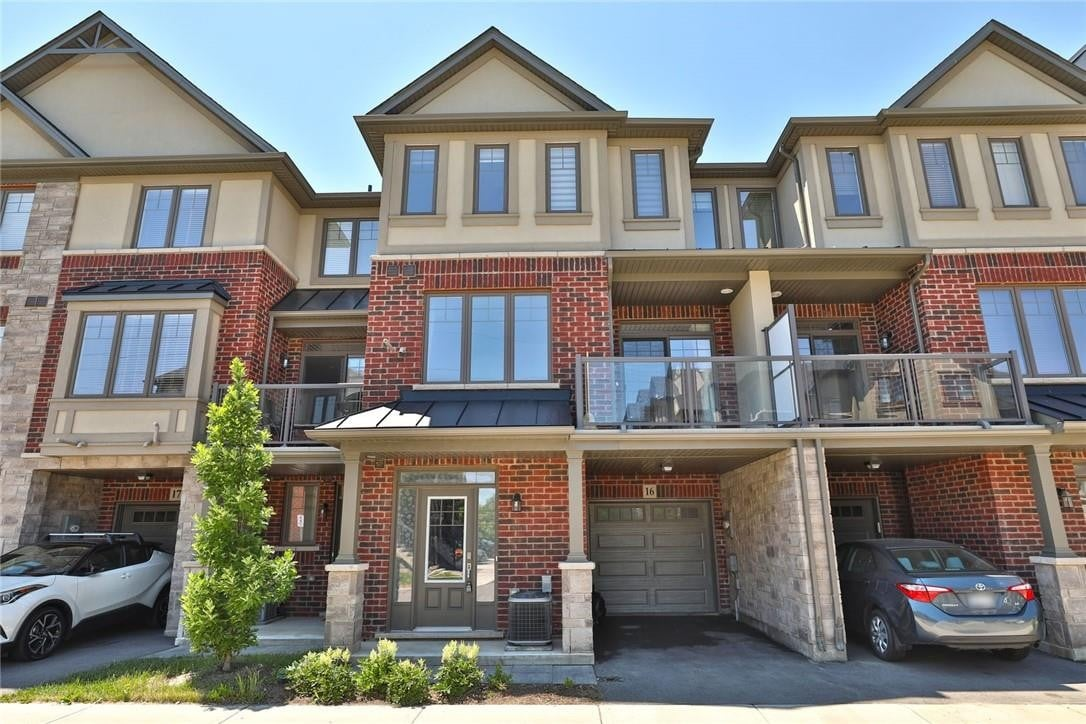 Townhouse for sale at 1169 Garner Rd E Unit 16 Ancaster Ontario - MLS: H4081522