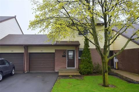 Townhouse for sale at 1190 Upper Ottawa St Unit 16 Hamilton Ontario - MLS: H4045635