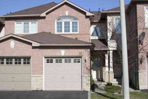 Townhouse for sale at 1285 Bristol Rd Unit 16 Mississauga Ontario - MLS: W4491903