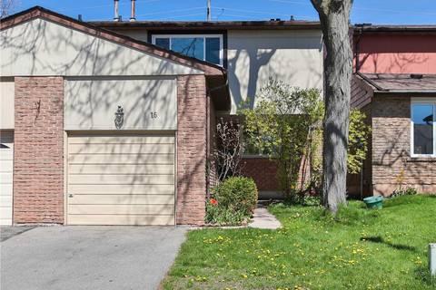 Condo for sale at 1580 Lancaster Dr Unit 16 Oakville Ontario - MLS: W4458176