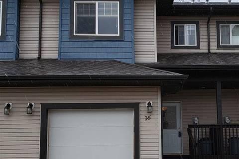Townhouse for sale at 16004 54 St Nw Unit 16 Edmonton Alberta - MLS: E4164987