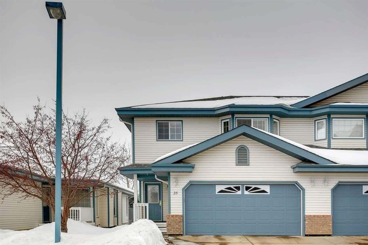 Townhouse for sale at 17418 98a Av NW Unit 16 Edmonton Alberta - MLS: E4188400