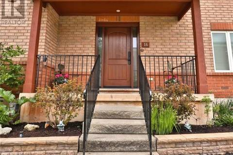 Townhouse for sale at 1750 Creek Wy Unit 16 Burlington Ontario - MLS: 30741056
