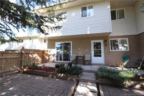 Townhouse for sale at 1915 18 Ave N Unit 16 Lethbridge Alberta - MLS: LD0180094