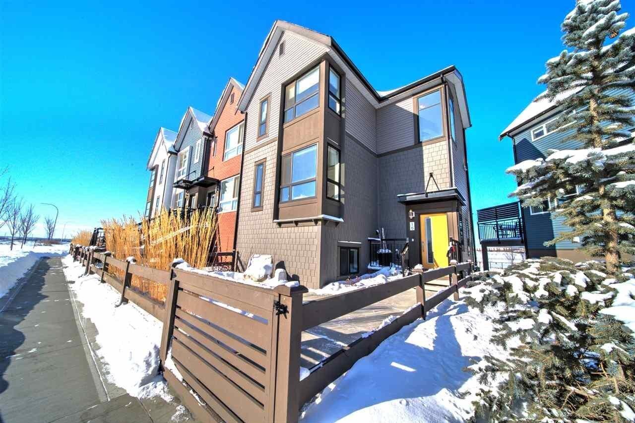 Townhouse for sale at 205 Mckenney Av Unit 16 St. Albert Alberta - MLS: E4188900