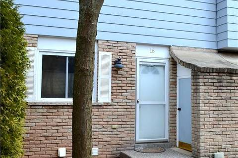 Townhouse for sale at 2067 Marine Dr Unit 16 Oakville Ontario - MLS: 30727697