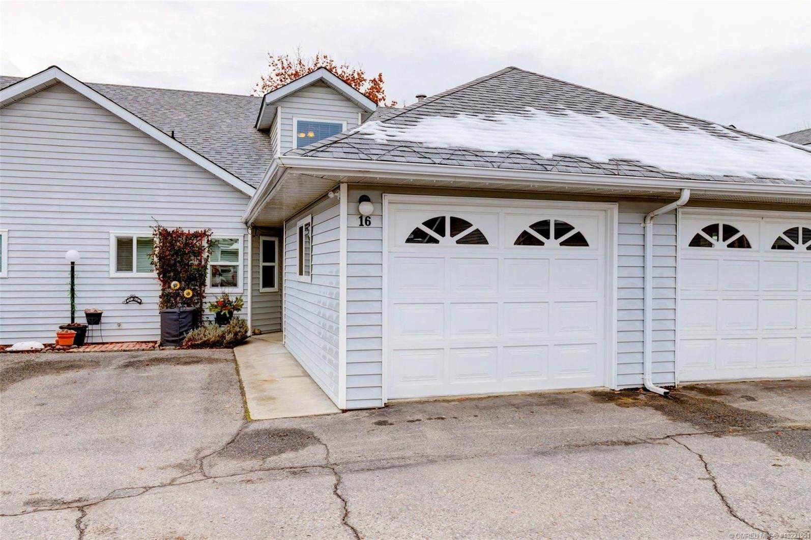 Townhouse for sale at 350 Davie Rd Unit 16 Kelowna British Columbia - MLS: 10221551