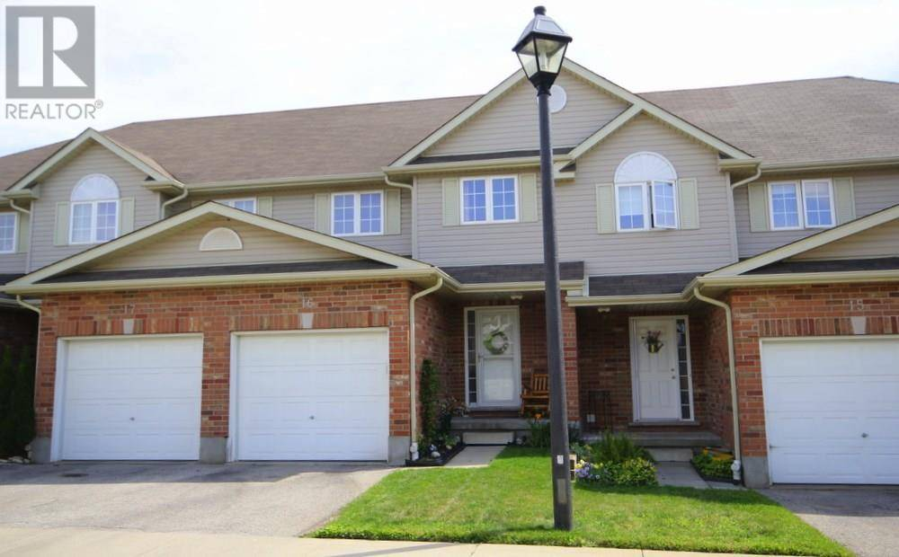 Townhouse for sale at 42 Fallowfield Dr Unit 16 Kitchener Ontario - MLS: 30765965