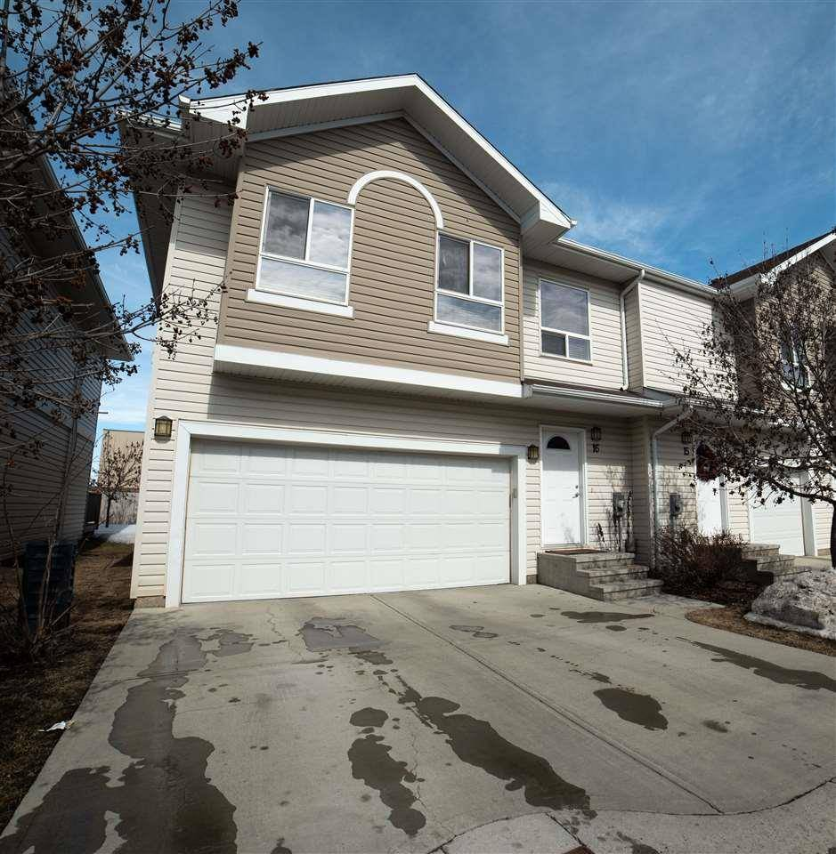 Townhouse for sale at 5120 164 Ave Nw Unit 16 Edmonton Alberta - MLS: E4193891