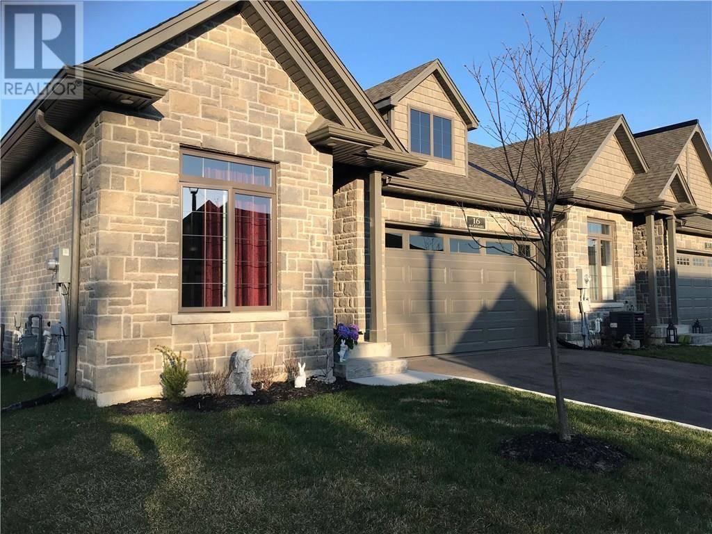 Townhouse for sale at 59 Cedar St Unit 16 Paris Ontario - MLS: 30802011