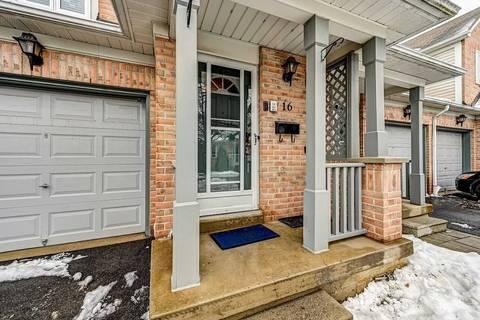 Condo for sale at 5958 Greensboro Dr Unit 16 Mississauga Ontario - MLS: W4696569
