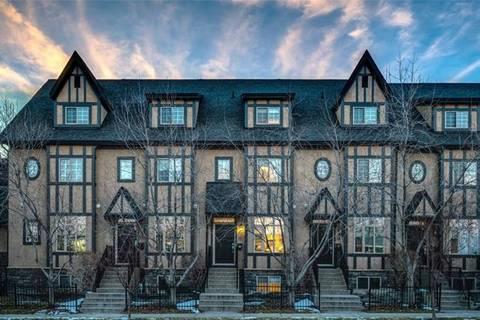 Townhouse for sale at 6 Scarpe Dr Southwest Unit 16 Calgary Alberta - MLS: C4295717