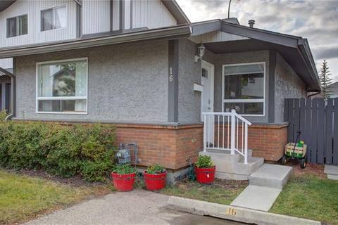 Townhouse for sale at 7172 Coach Hill Rd Southwest Unit 16 Calgary Alberta - MLS: C4252843