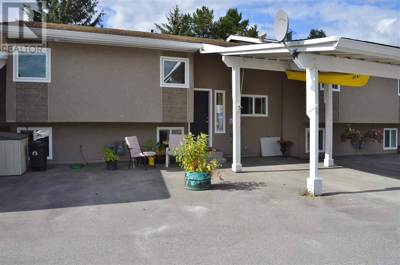 Townhouse for sale at 863 Lahakas Blvd S Unit 16 Kitimat British Columbia - MLS: R2301622