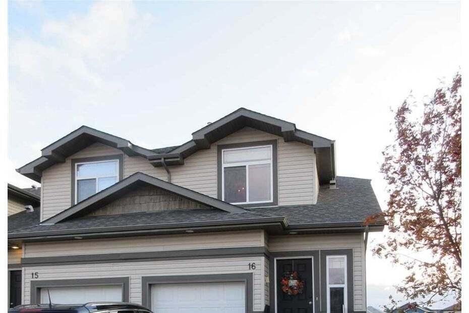 Townhouse for sale at 9511 102 Av Unit 16 Morinville Alberta - MLS: E4197531