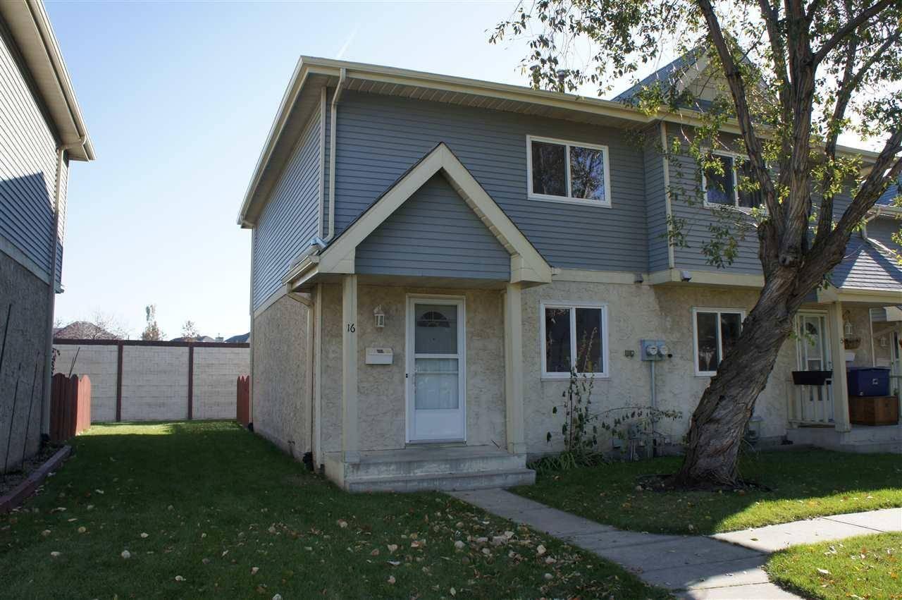 Townhouse for sale at 9619 180 St Nw Unit 16 Edmonton Alberta - MLS: E4176911