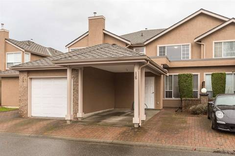 Townhouse for sale at 9671 Capella Dr Unit 16 Richmond British Columbia - MLS: R2435967