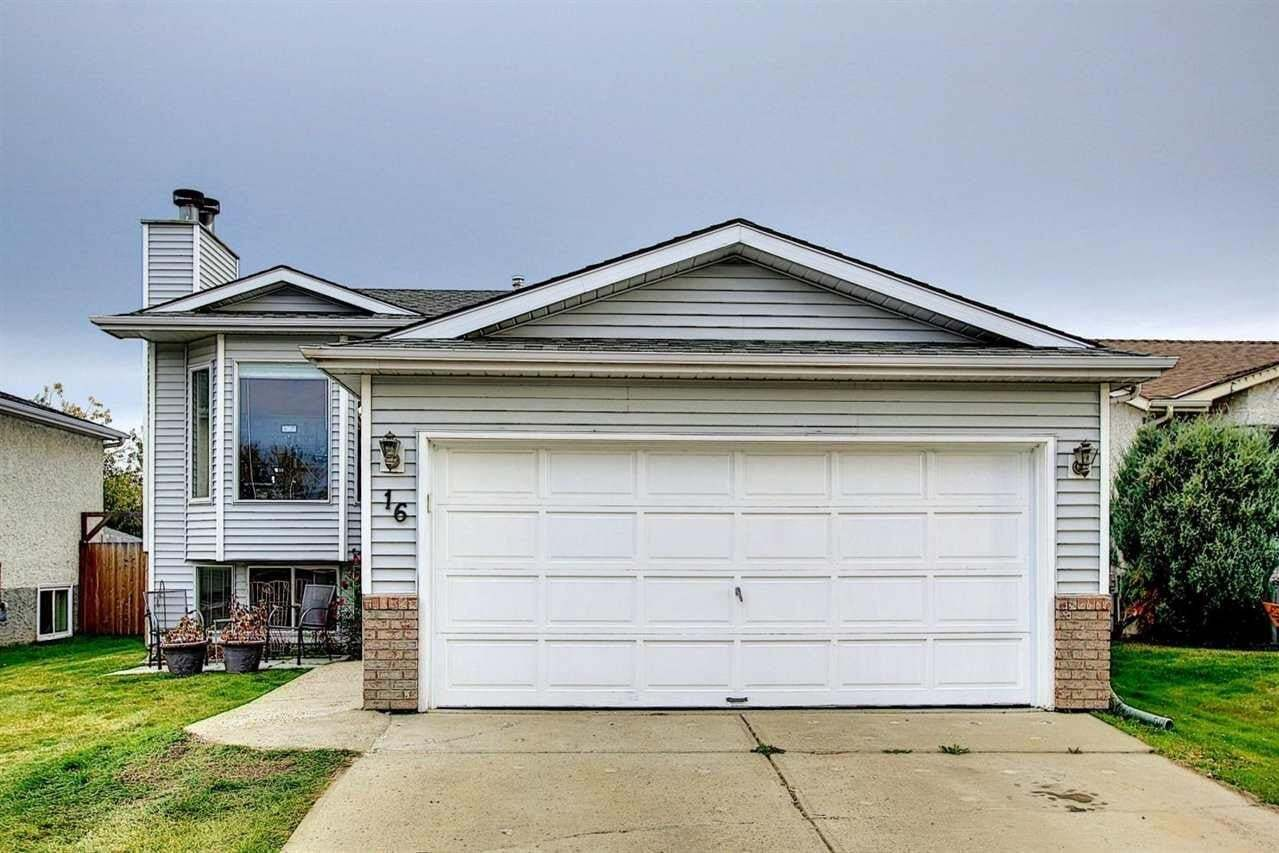 House for sale at 16 Aberdeen Wy Stony Plain Alberta - MLS: E4217083
