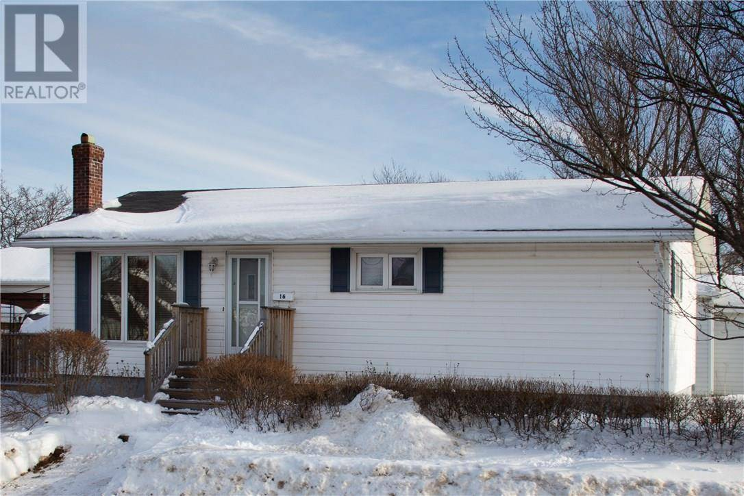 House for sale at 16 Ash St Moncton New Brunswick - MLS: M127046