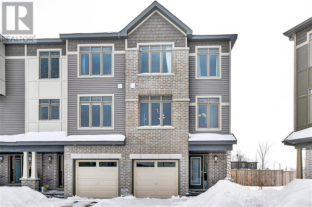 Townhouse for sale at 16 Barn Swallow Pt Ottawa Ontario - MLS: 1182058