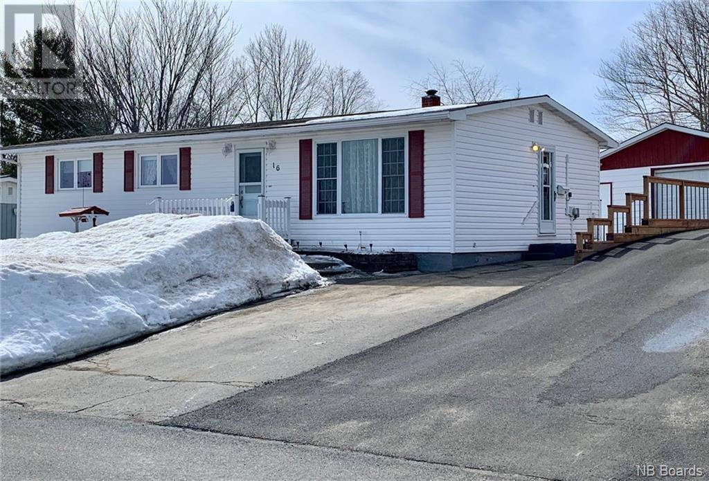 House for sale at 16 Bird St Nackawic New Brunswick - MLS: NB042245