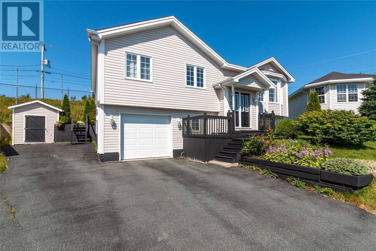 House for sale at 16 Blue River Pl St. John's Newfoundland - MLS: 1200861
