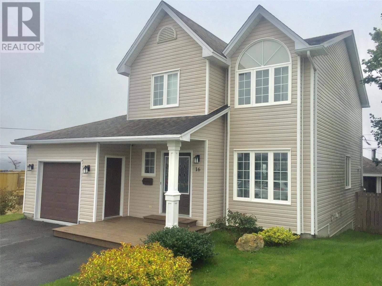 House for sale at 16 Burdell Pl St. John's Newfoundland - MLS: 1203200
