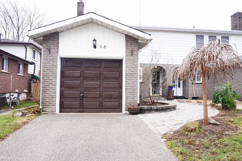 Townhouse for sale at 16 Carlton Rd Barrie Ontario - MLS: S4537317