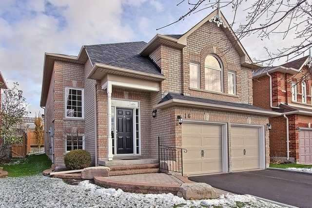 House for sale at 16 Chessman Court Whitchurch-stouffville Ontario - MLS: N4301160