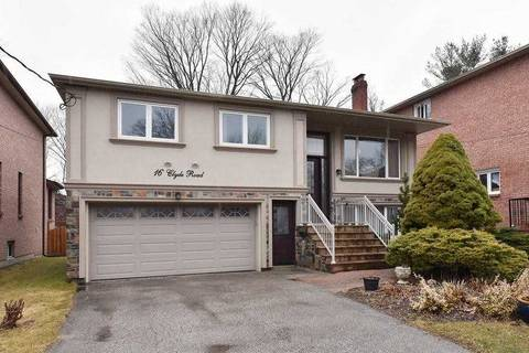 House for sale at 16 Clyde Rd Toronto Ontario - MLS: E4730675