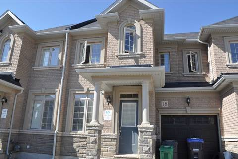 Townhouse for sale at 16 Cohoe St Brampton Ontario - MLS: W4480771