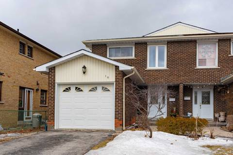 Townhouse for sale at 16 Comrie Terr Toronto Ontario - MLS: E4386330