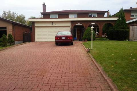 House for rent at 16 Coral Harbour Cres Markham Ontario - MLS: N4733335