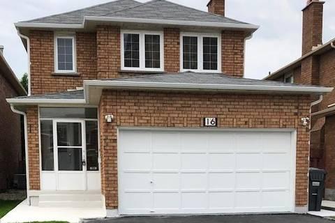 House for sale at 16 Danum Rd Brampton Ontario - MLS: W4466754