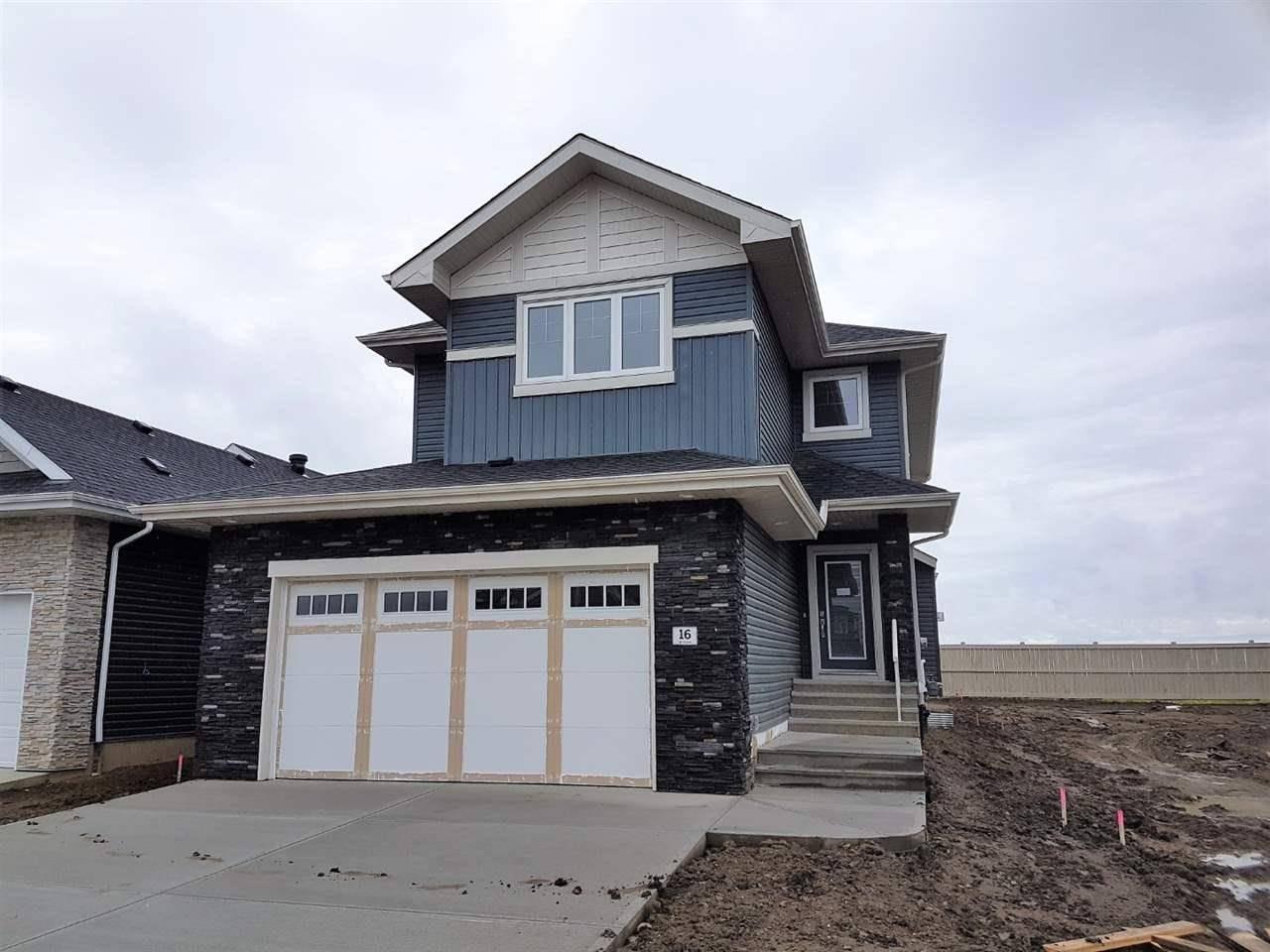 House for sale at 16 Edison Dr St. Albert Alberta - MLS: E4178685