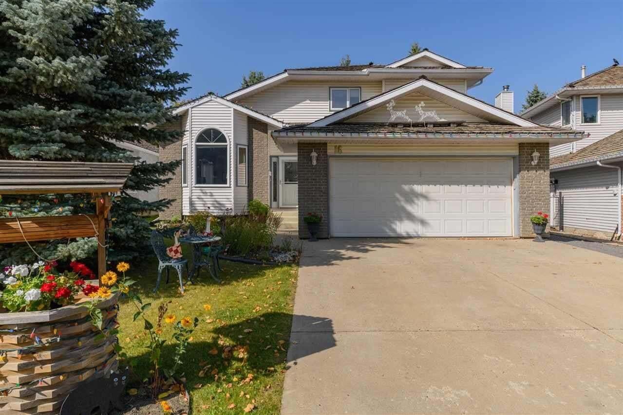 House for sale at 16 Elliot Pl St. Albert Alberta - MLS: E4214582