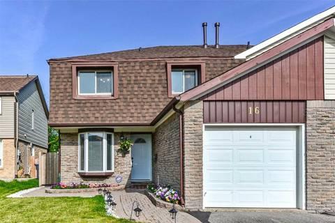 Townhouse for sale at 16 Fanshawe Dr Brampton Ontario - MLS: W4514578