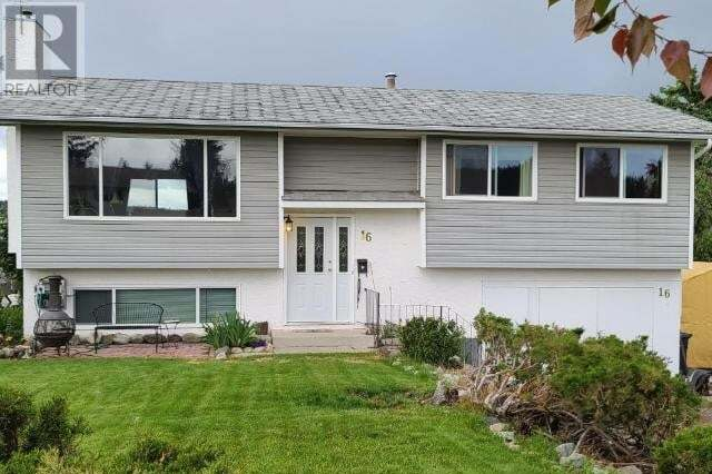 House for sale at 16 Garnet Ave Logan Lake British Columbia - MLS: 157663