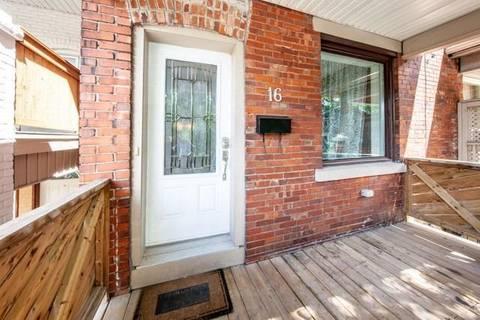 Townhouse for rent at 16 Glen Gordon Rd Toronto Ontario - MLS: W4563759