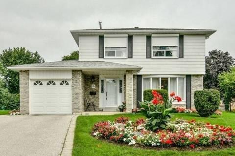 House for sale at 16 Grassington Ct Brampton Ontario - MLS: W4460942