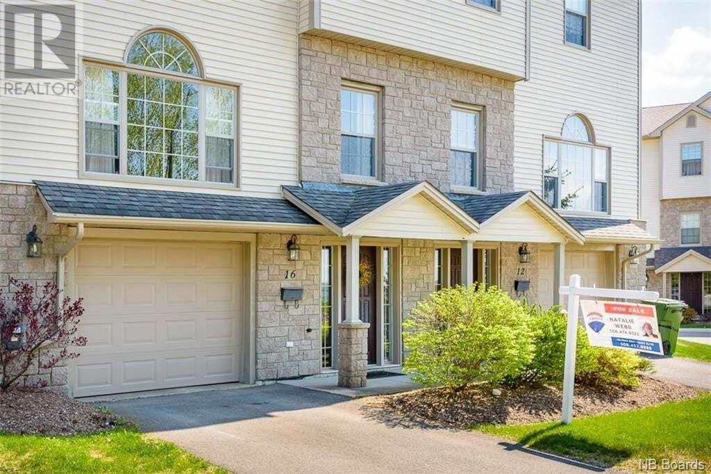 House for sale at 16 Hillside Ln Fredericton New Brunswick - MLS: NB041986