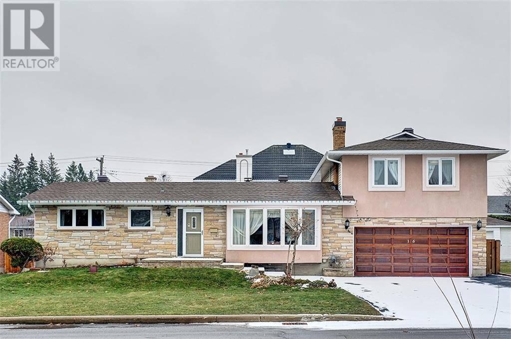 House for sale at 16 Kesler Ave Ottawa Ontario - MLS: 1175701