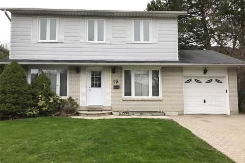 House for sale at 16 King Louis Cres Toronto Ontario - MLS: E4430018