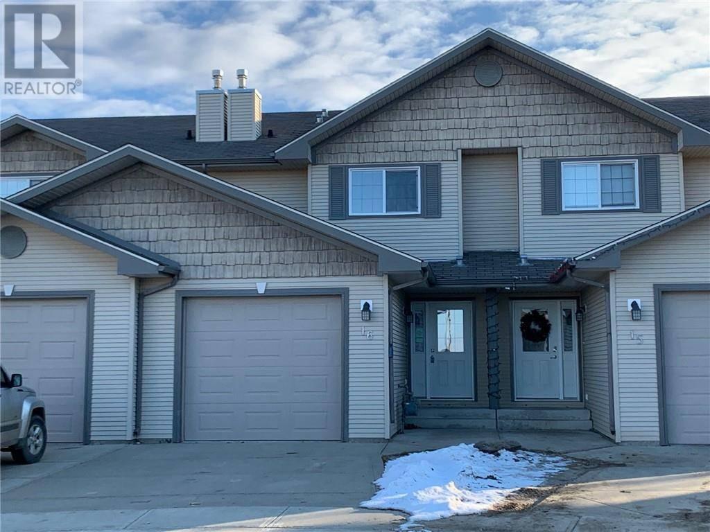 Townhouse for sale at 16 Lark Cs Sylvan Lake Alberta - MLS: ca0184346