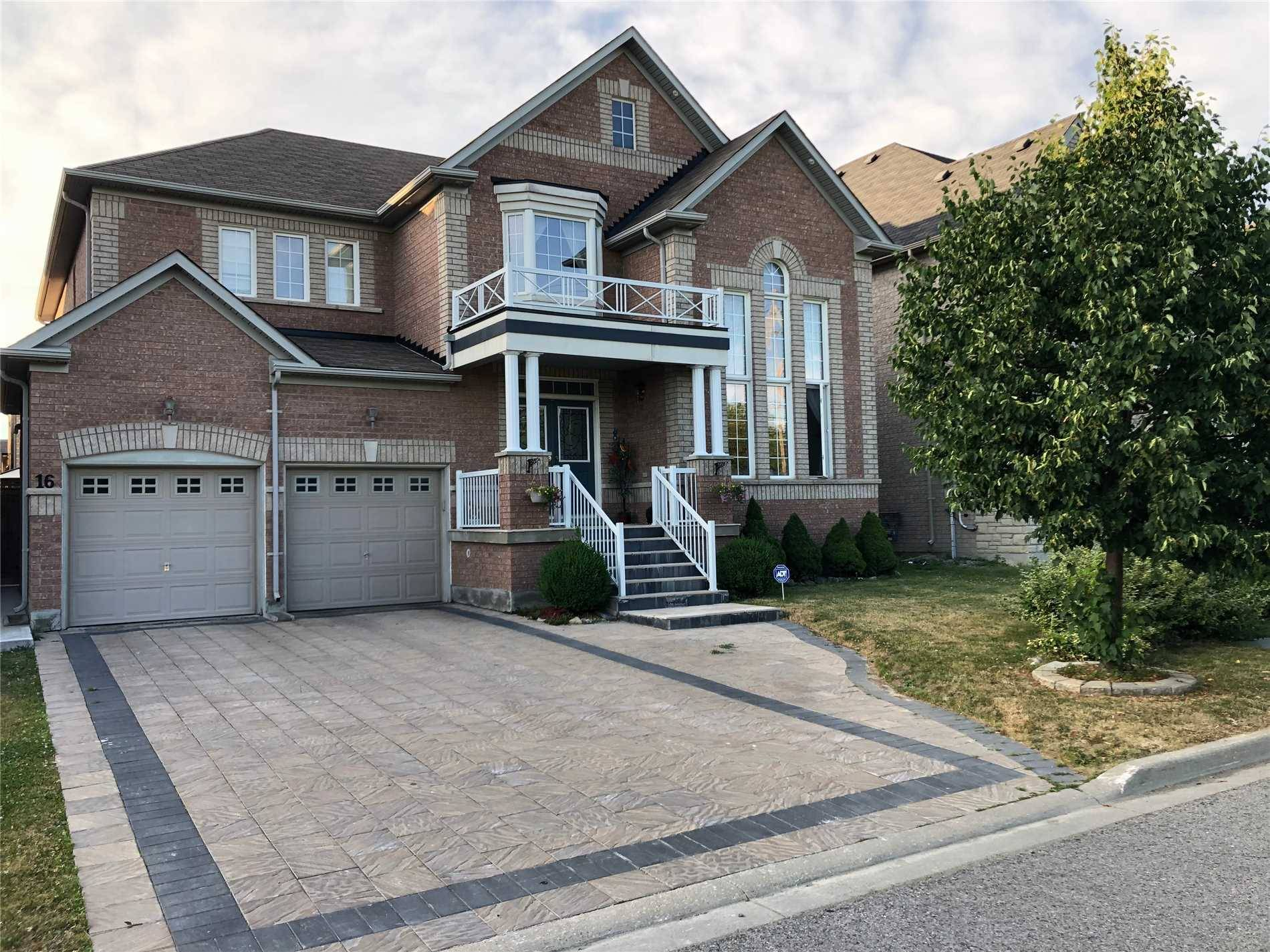 House for sale at 16 Lugano Cres Markham Ontario - MLS: N4482189