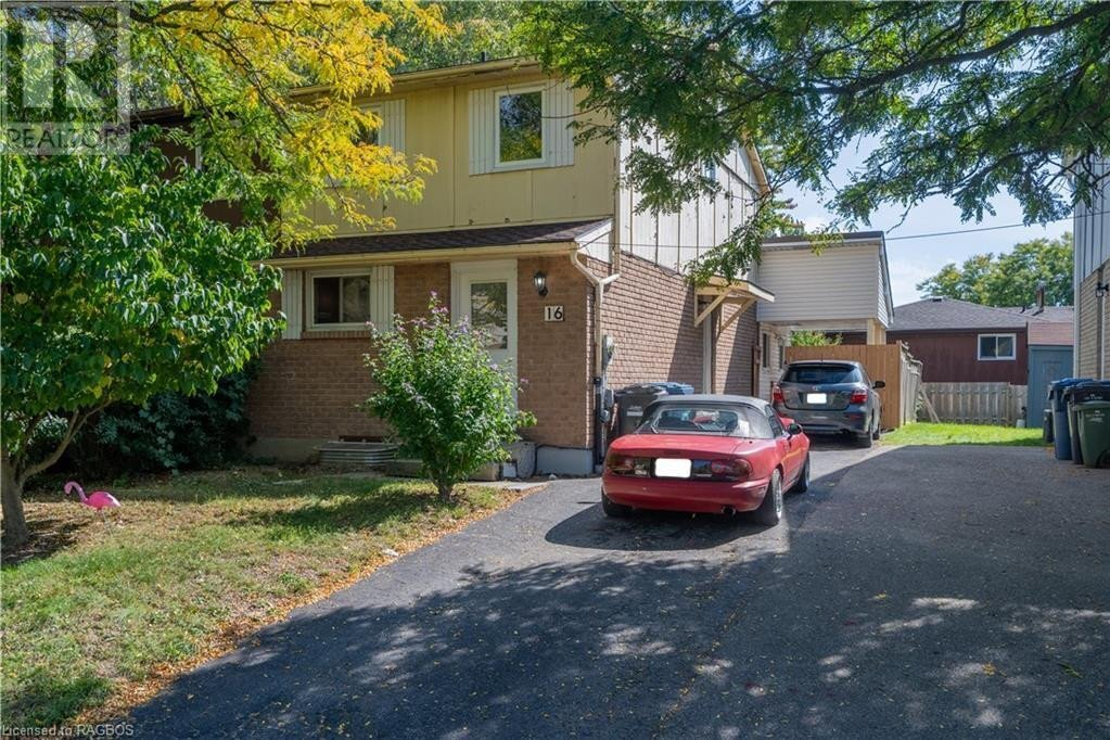 House for sale at 16 Mason Ct Guelph Ontario - MLS: 40020537